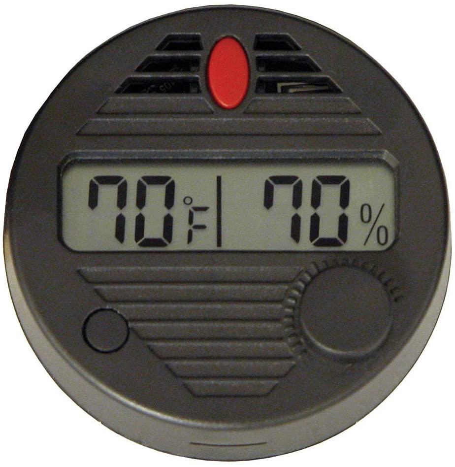 HygroSet Round Digital Hygrometer