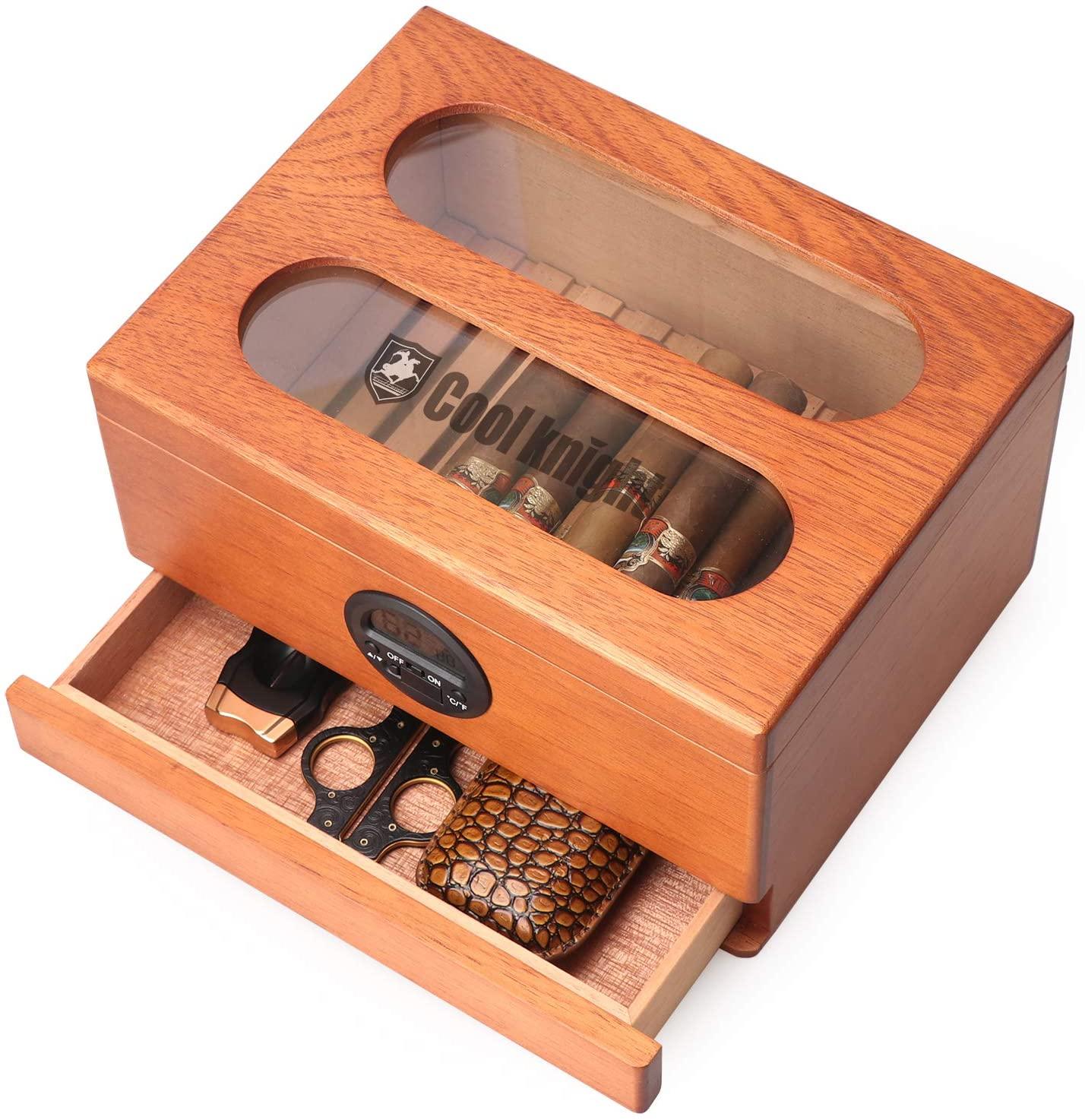 COOL KNIGHT Cigar Humidor