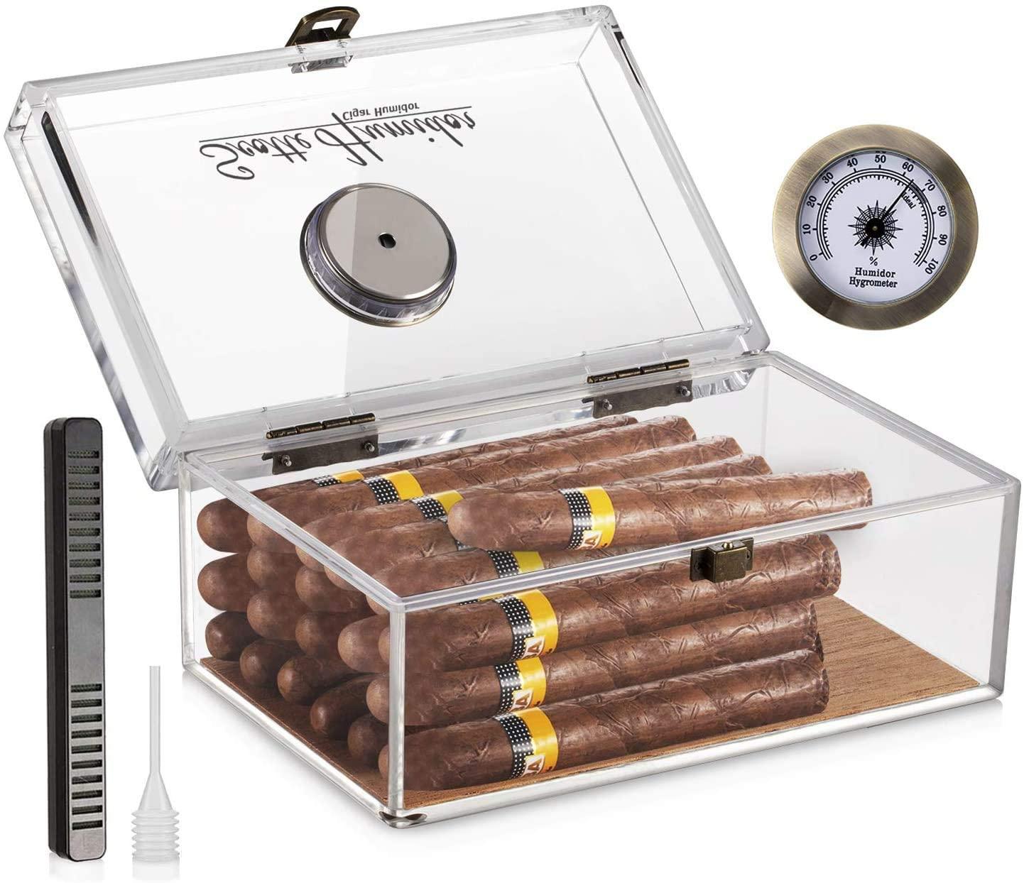 Scotte Acrylic Cigar Humidor