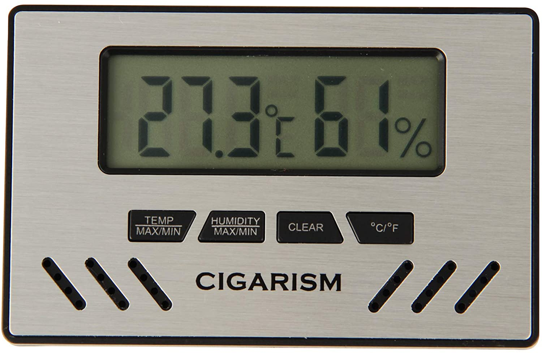 CIGARISM Digital Hygrometer