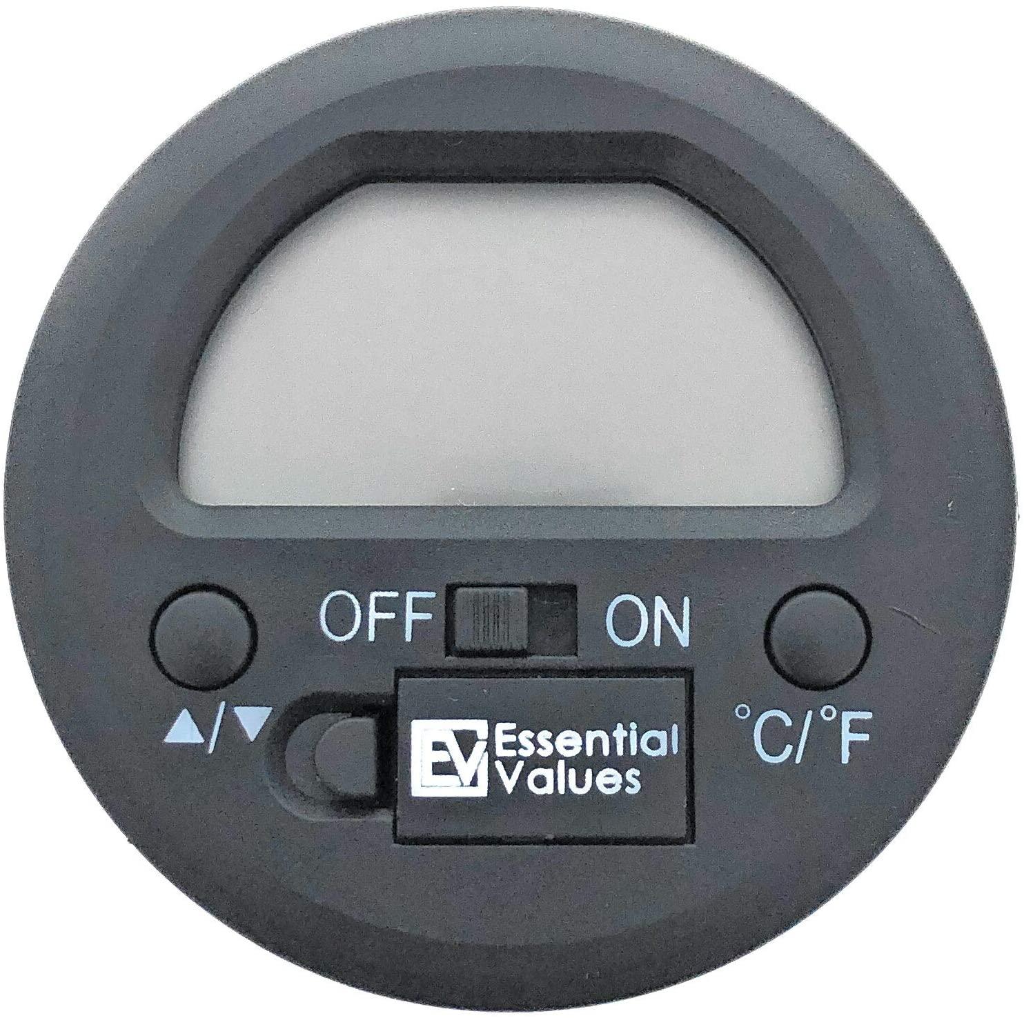 Essential Values Round Digital Cigar Hygrometer